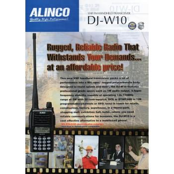 ALINCO DJ-W10