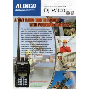 ALINCO DJ-W100
